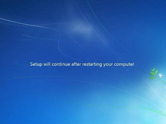 continue install windows 7