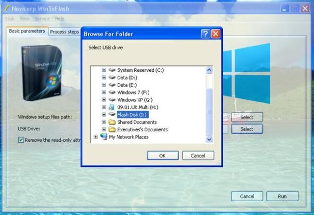 Pilihan Drive Flash Disk