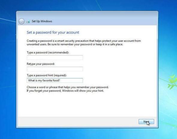 memasukan password windows 7
